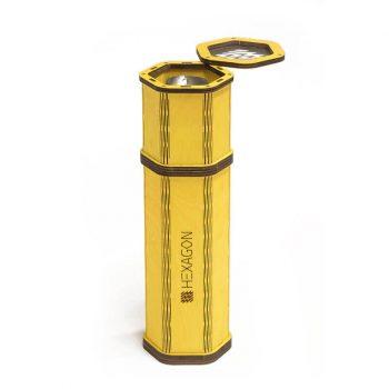 Parim kollane vesipiip, millele oma disain lisada - kohandatud vastupidav vabaõhu vesipiip