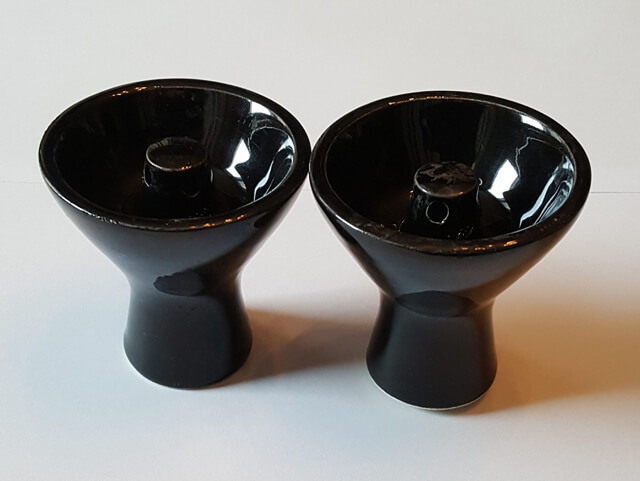 Two hookah bowls - having additional hookah bowl can save your day