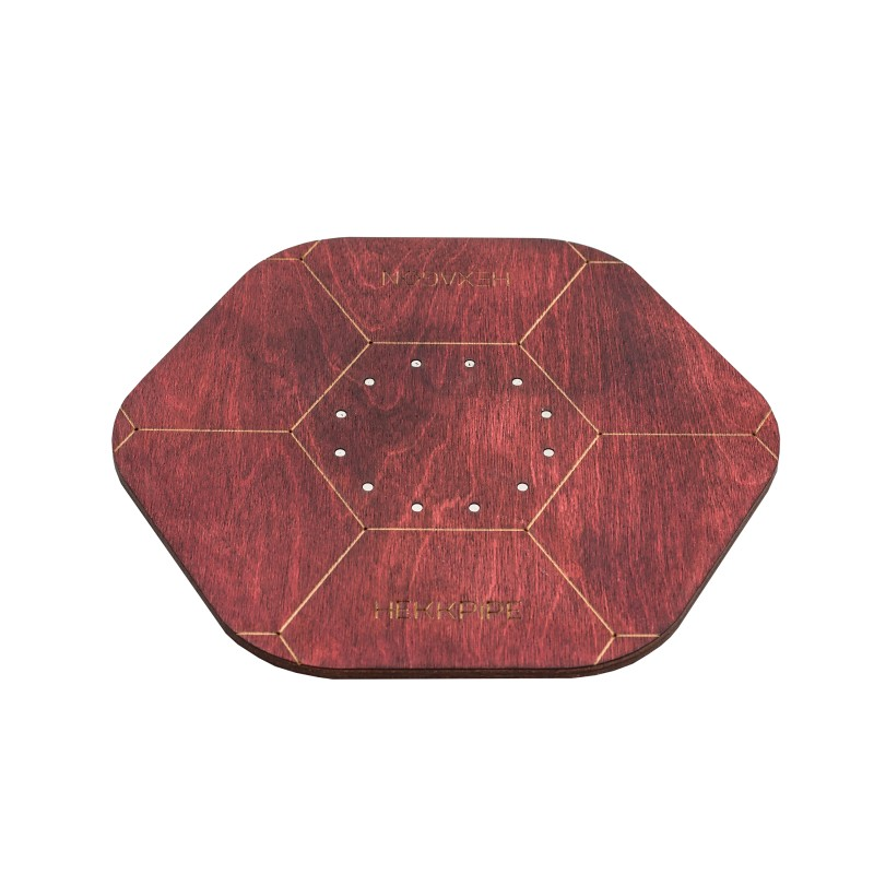 Shisha-plate-mahogany-color-made-of-wood-and-stainless-steel-magnets